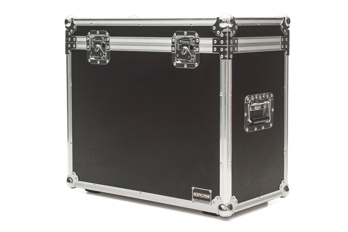Hard Case Amplificador Cubo Fender HOT Rod DELUXE SE Baú  - SOMCASE