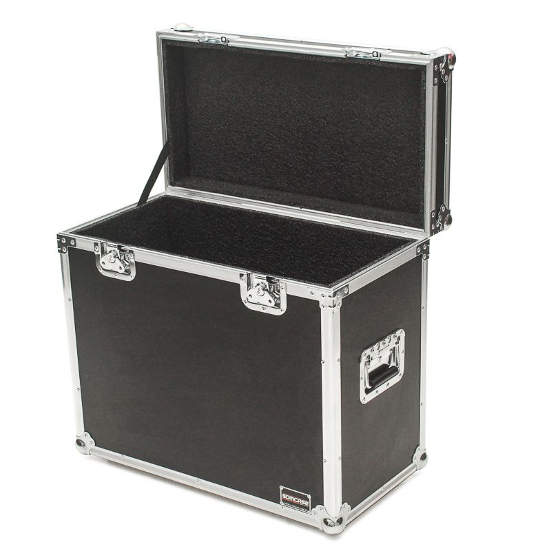 Hard Case Amplificador Cubo Fender HOT ROD III DEVILLE 410  - SOMCASE