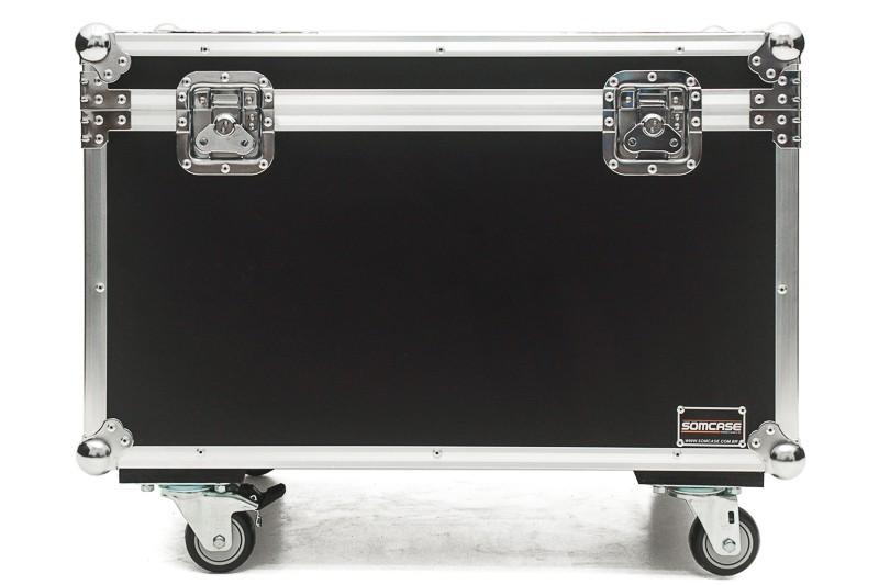Hard Case Baú Acessórios 100x40x40 com rodas Emb10
