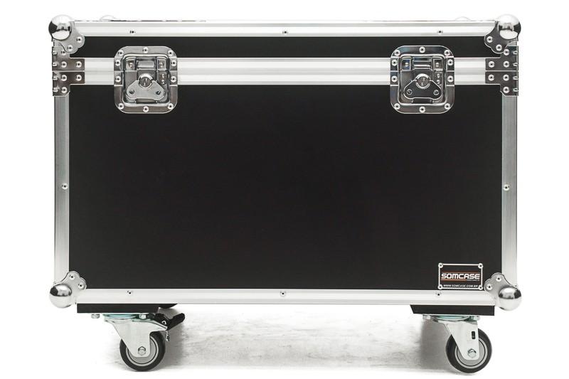 Hard Case Baú Acessórios 100x50x50 com rodas Emb10