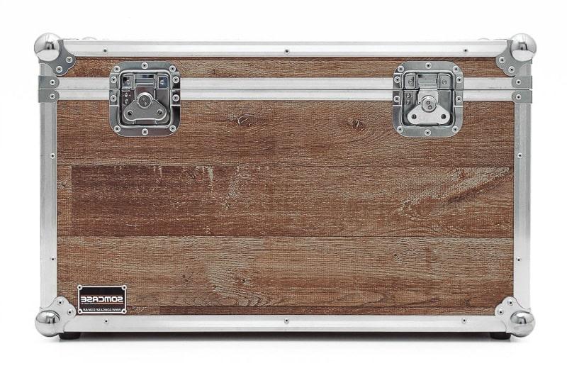 Hard Case Baú Acessórios e Decoração 68x38x39 Vintage
