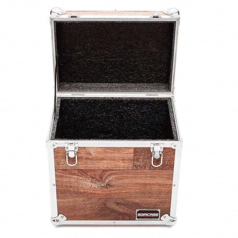Hard Case Baú cabos e acessórios Vintage (33X33X28)  - SOMCASE