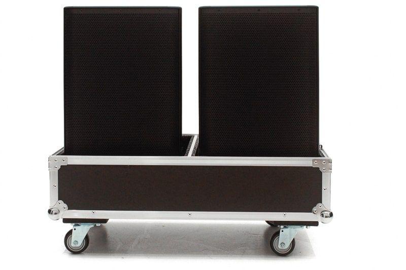Hard Case Caixa de som DBR 12 Duplo