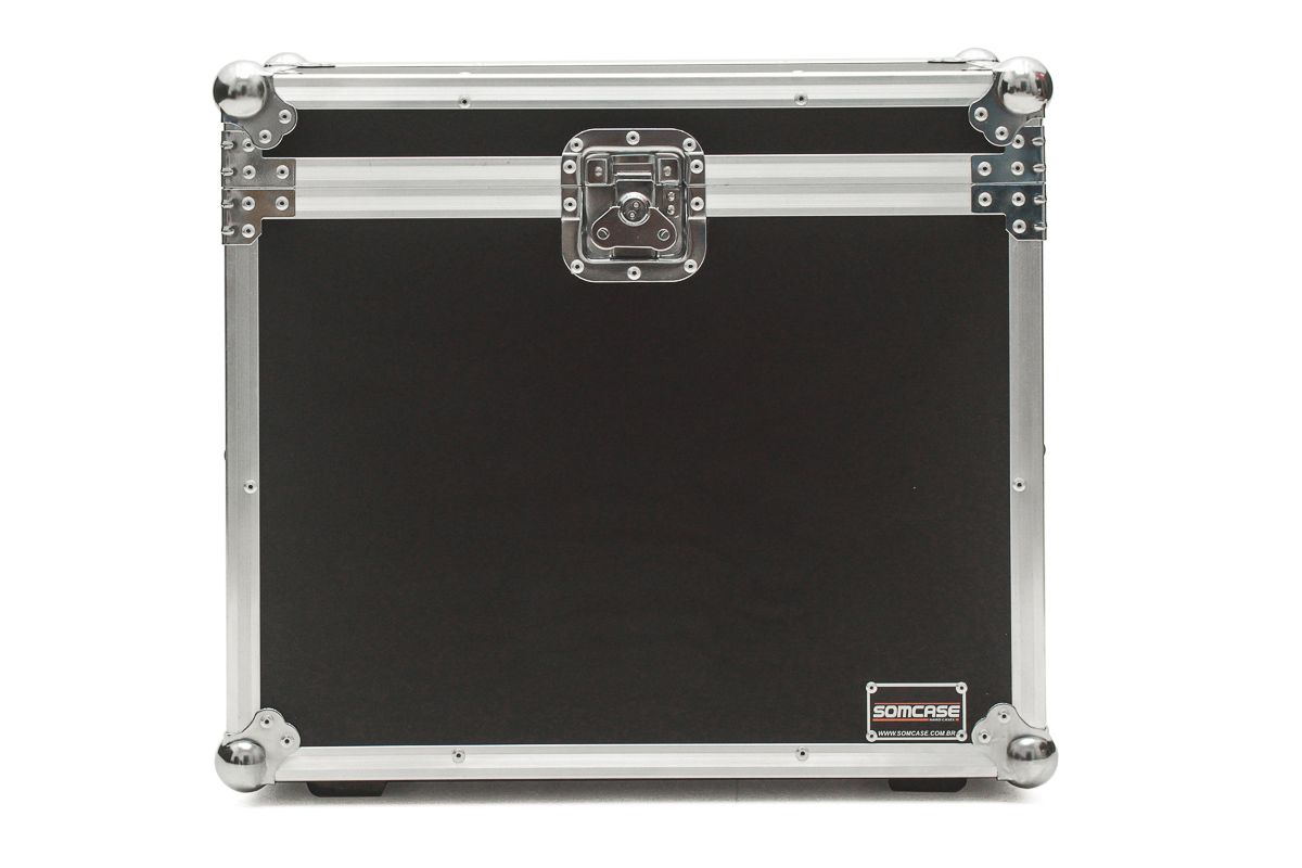 Hard Case Caixa de som FZ AUDIO FZ108 HPA Duplo  - SOMCASE
