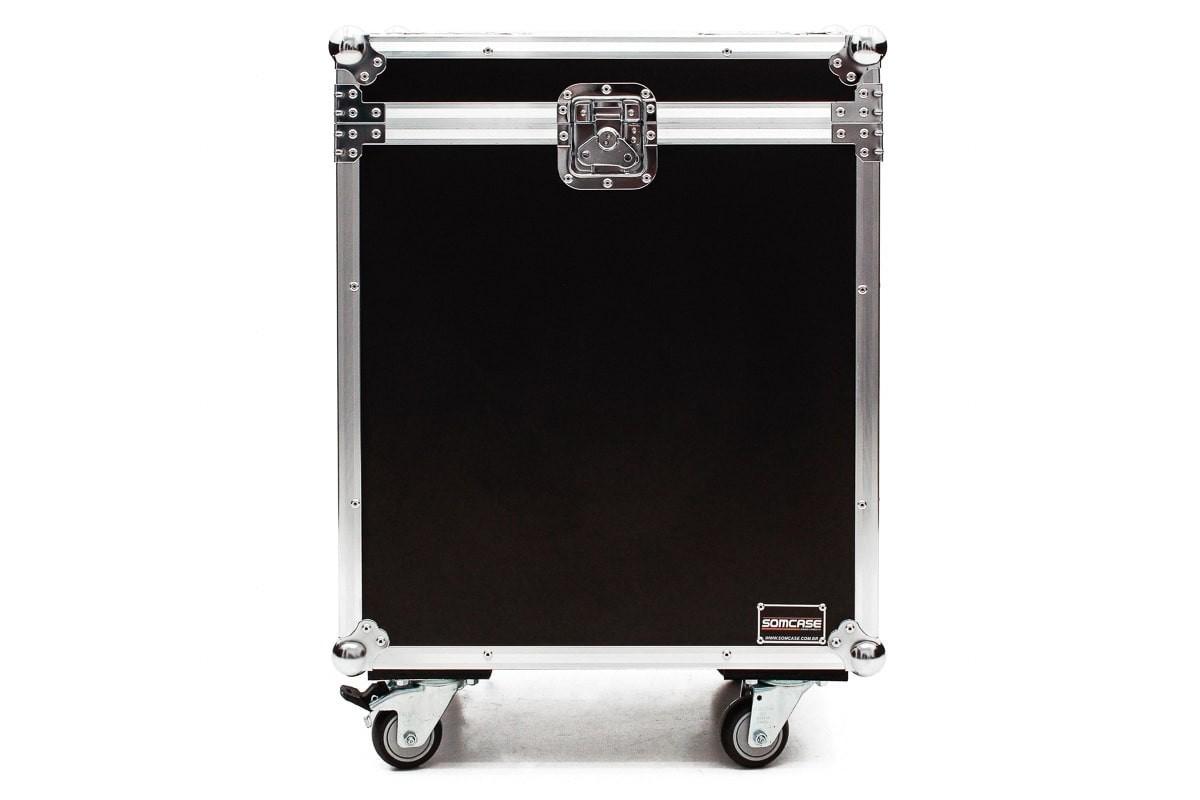 Hard case Caixa de som JBL PRX 815 Individual com Roda