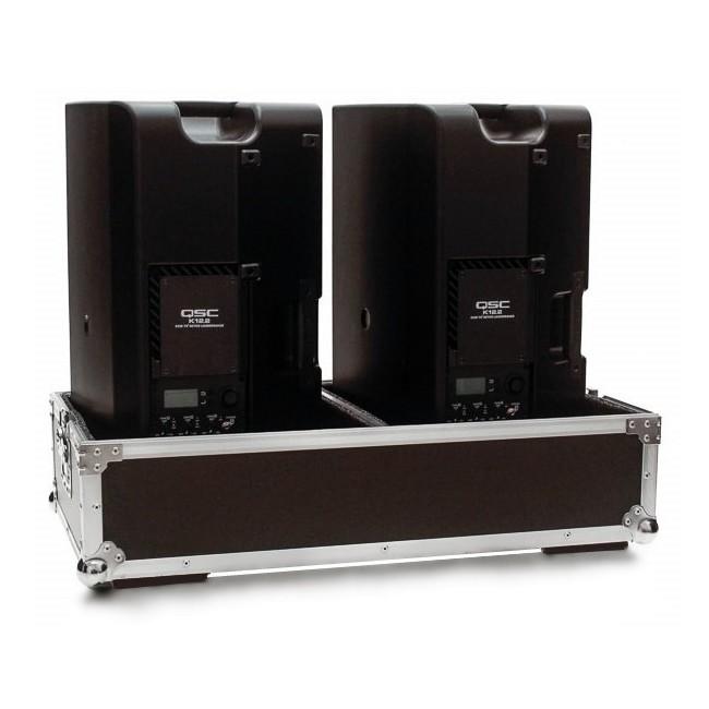 Hard Case Caixa de Som QSC CP8 Duplo