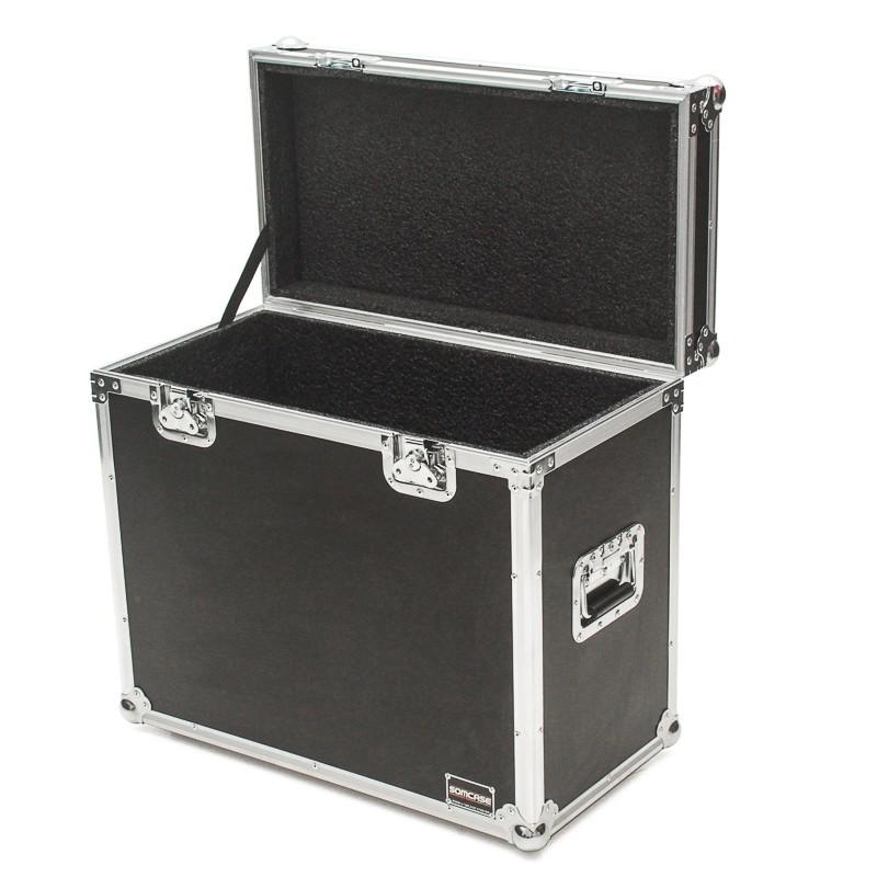 Hard Case Caixa de Som QSC K10 e K10.2 Baú Duplo
