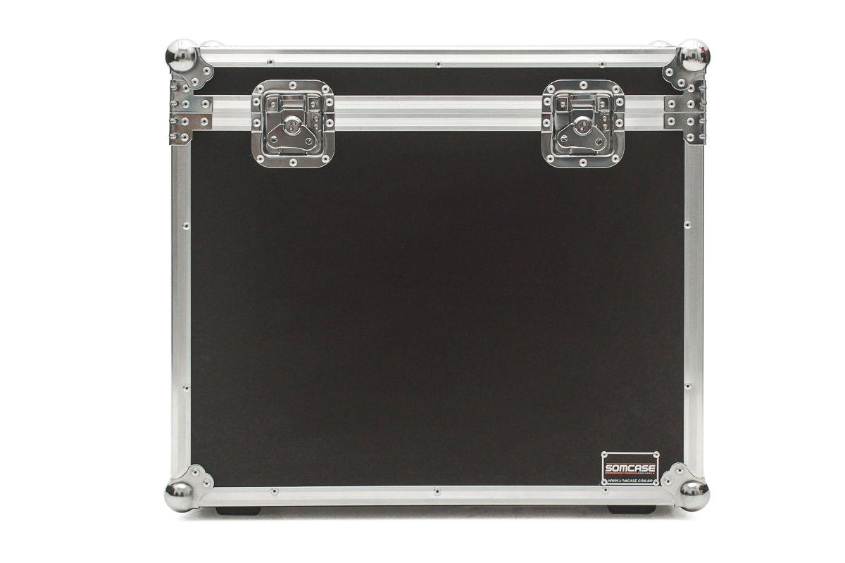 Hard Case Caixa de Som QSC K10 e K10.2 Baú Duplo  - SOMCASE