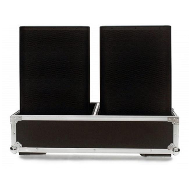 Hard Case Caixa de Som QSC K12 e K12.2 Duplo