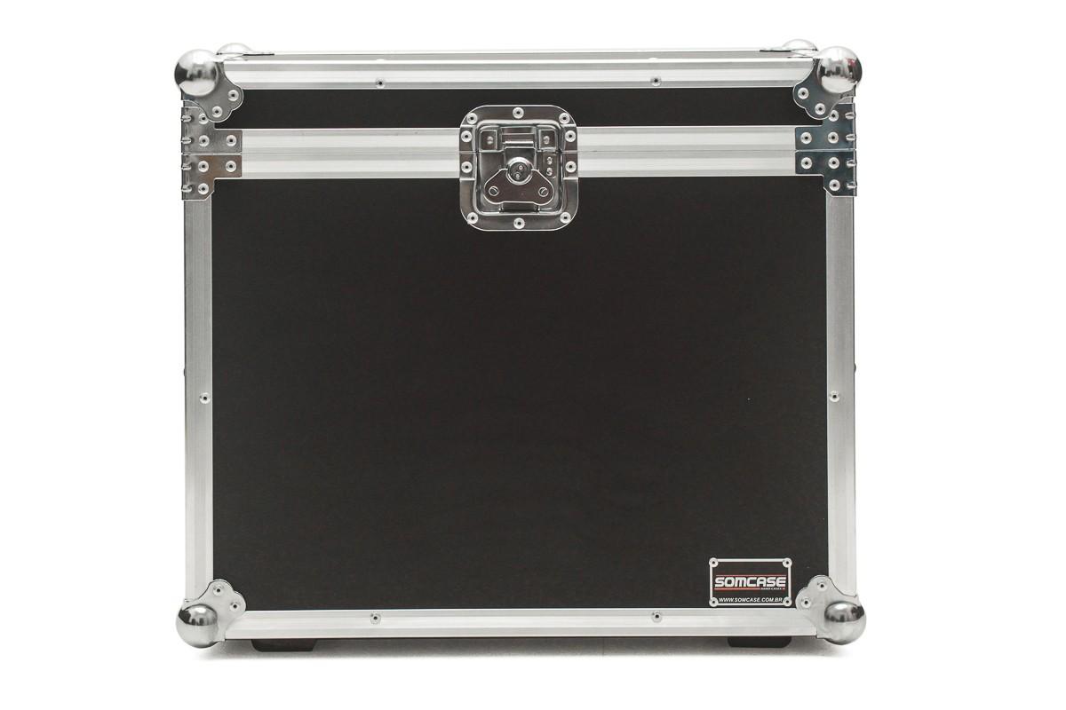 Hard Case Caixa de Som QSC K8 e K8.2 Baú Duplo