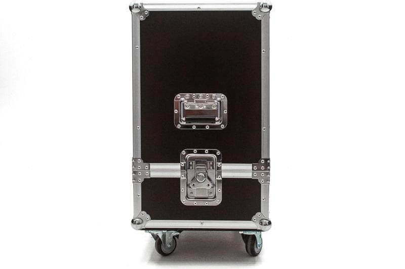 Hard Case Caixa de Som QSC KW122 Duplo com Roda