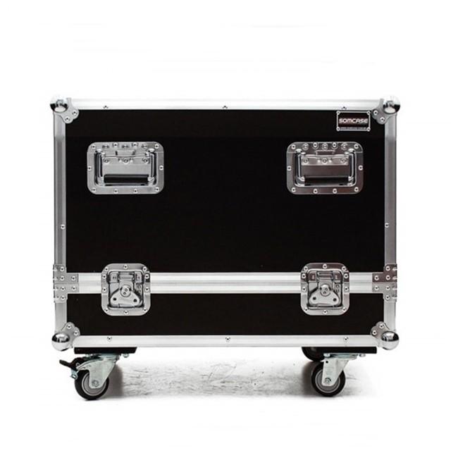 Hard case Caixa Line Array JBL VL8A Individual C/ Roda