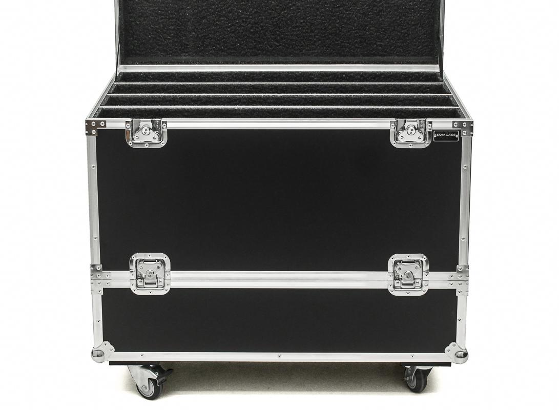 Hard Case Caixa som Sistema Turbo Sound IP 2000 IP2000 Duplo