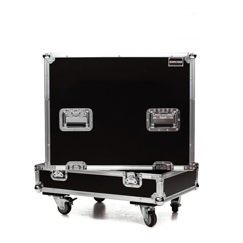 Hard case Caixa Subwoofer QSC KS112 Individual C/ Roda