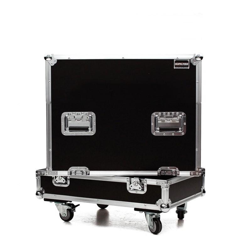 Hard case Caixa Subwoofer QSC KS212C Individual C/ Roda
