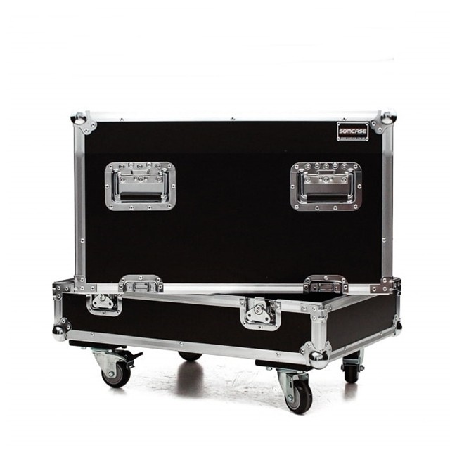 Hard case Caixa Subwoofer QSC KW181  Individual C/ Roda