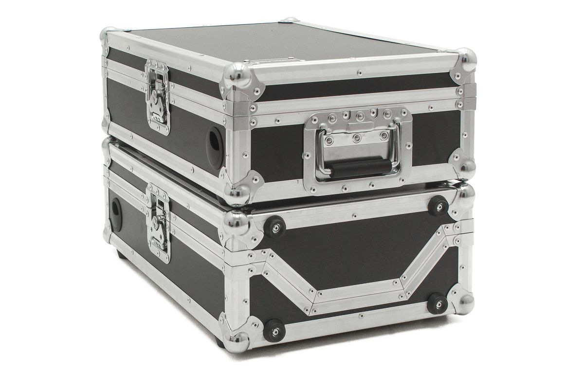 Hard Case CD Player Kit Trio CDJ 2000 e MIXER  (Total 3 Cases) emb6
