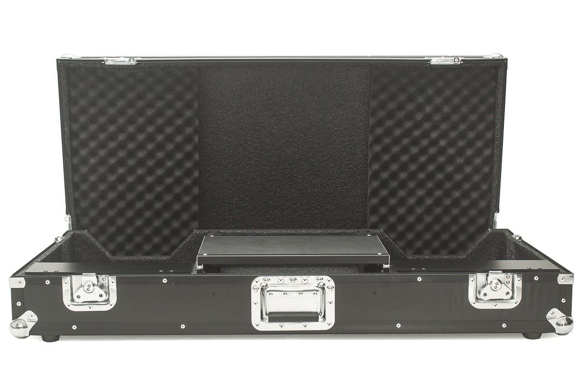 Hard Case CDJ 3000 Mixer e DJM 900 Pioneer Plataforma Black