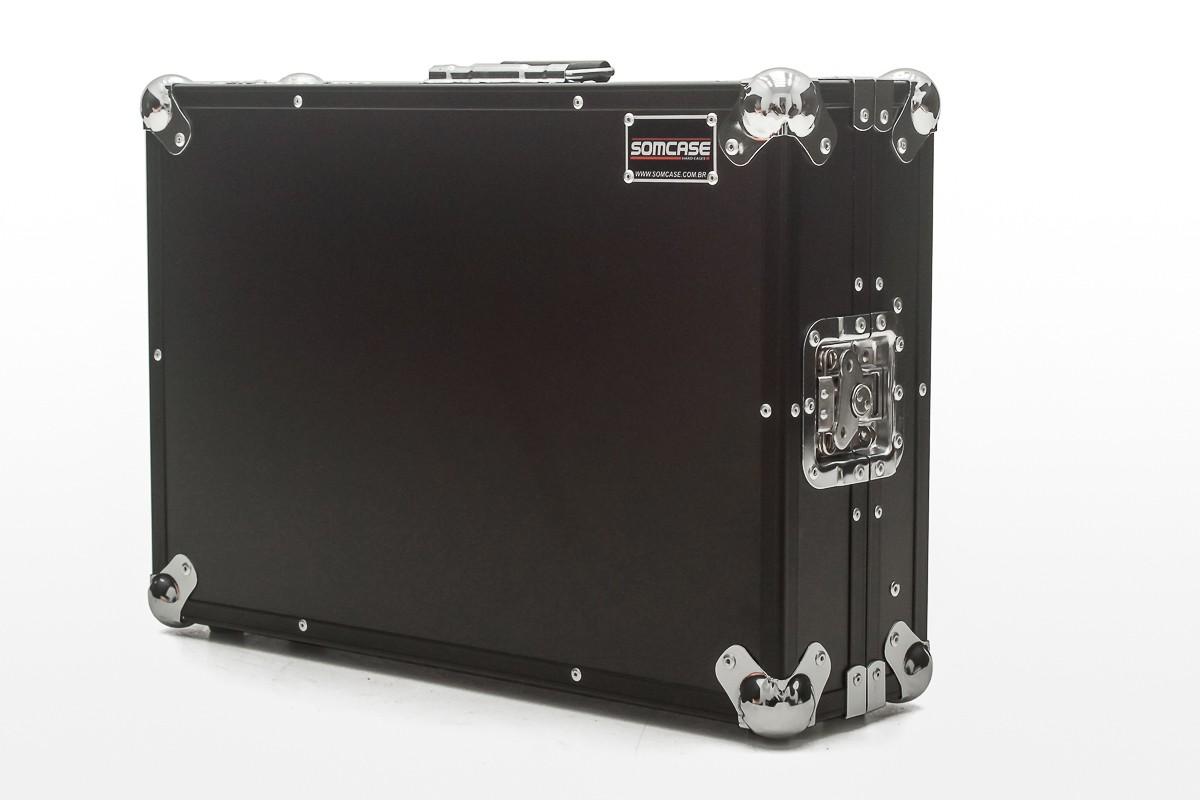 Hard Case Controladora Denon MC 4000 Com Plataforma Black
