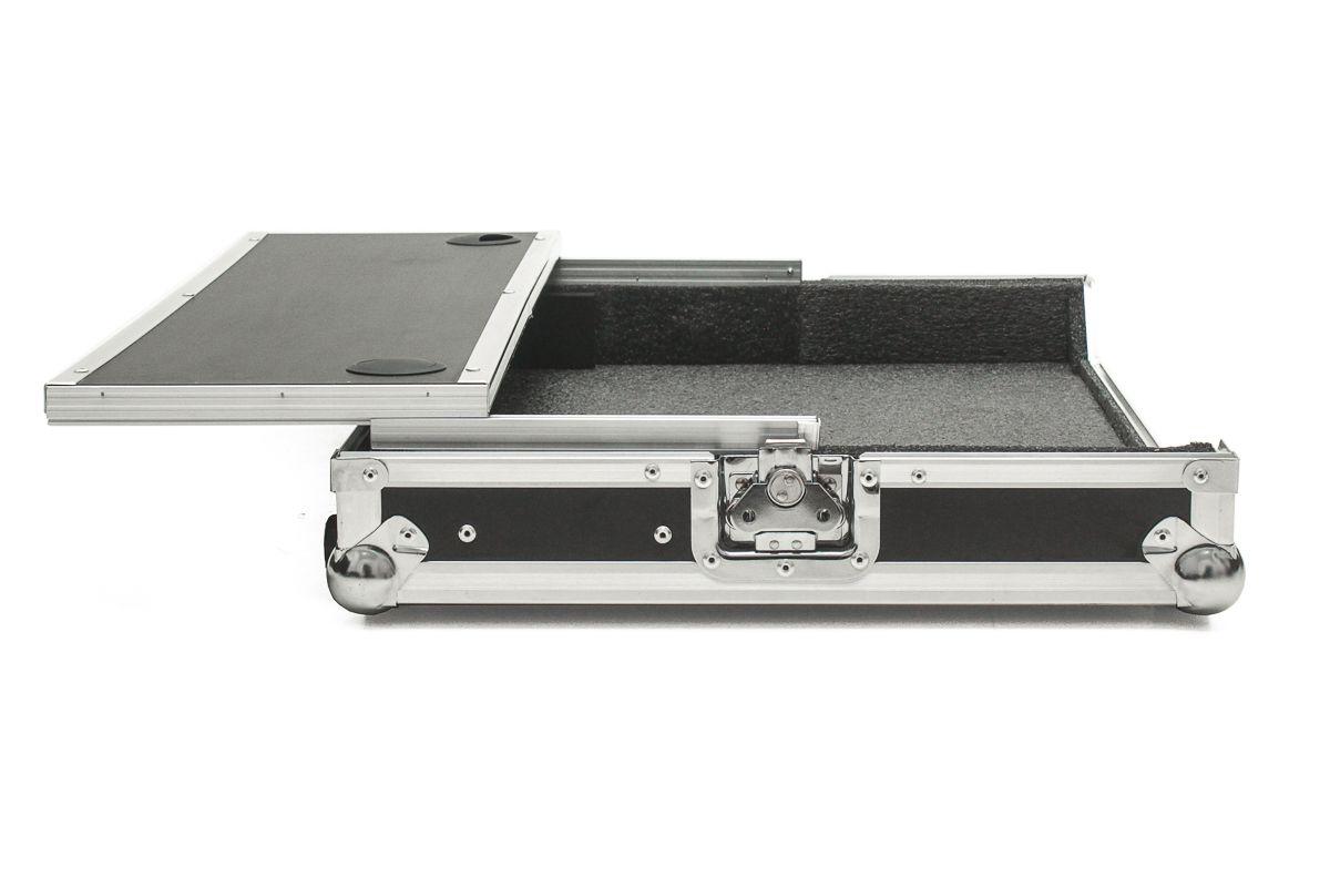 Hard Case Controladora Numark Mixdeck Quad com Plataforma deslizante