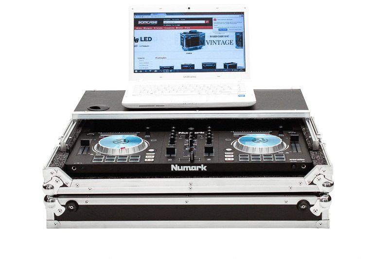 Hard Case Controladora Numark Mixtrack Platinun com Plataforma deslizante