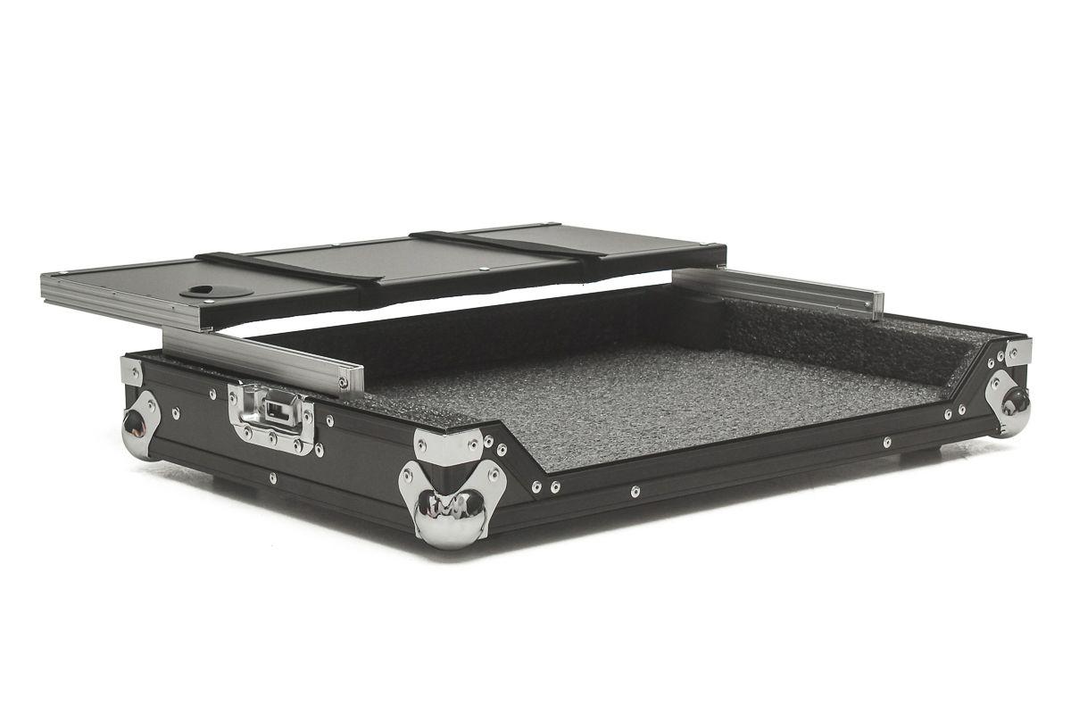 Hard Case Controladora Pioneer DDJ RB C/ Plataforma Black/Chromo  - SOMCASE