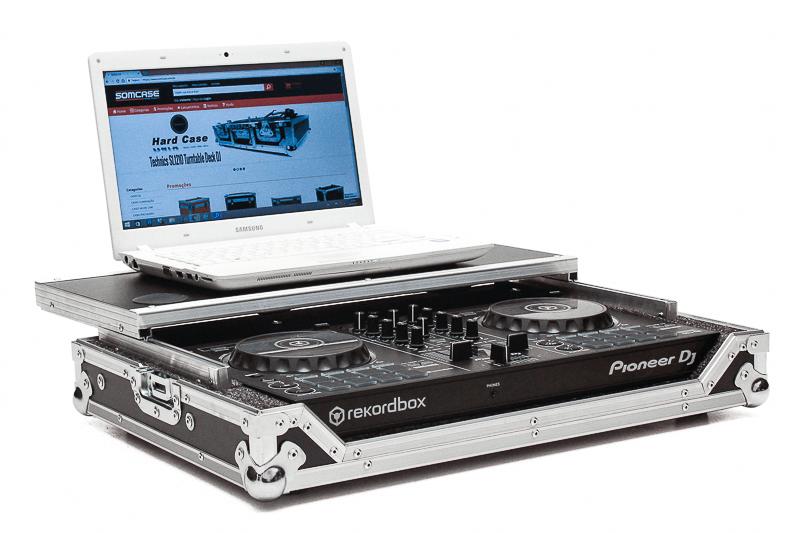 Hard Case Controladora Pioneer DDJ RB com Plataforma Deslizante