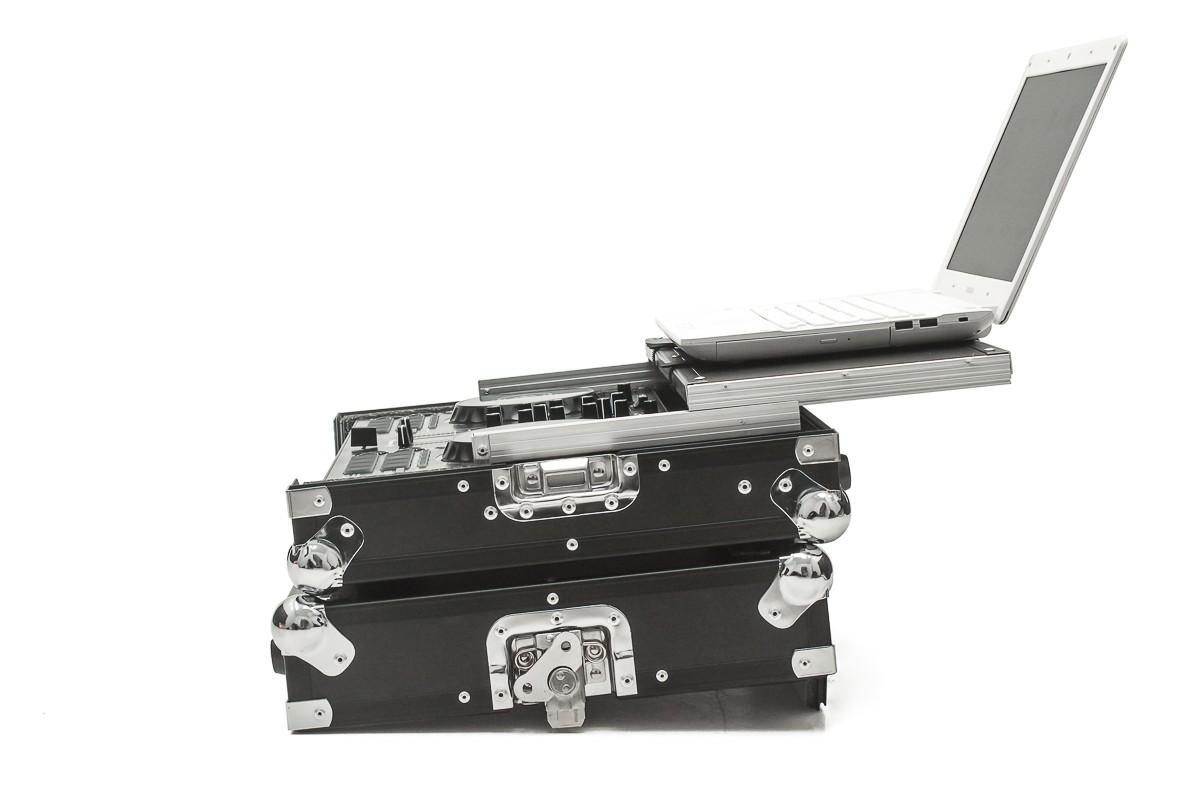 Hard Case Controladora Pioneer DDJ RR C/ Plataforma Black/Chromo