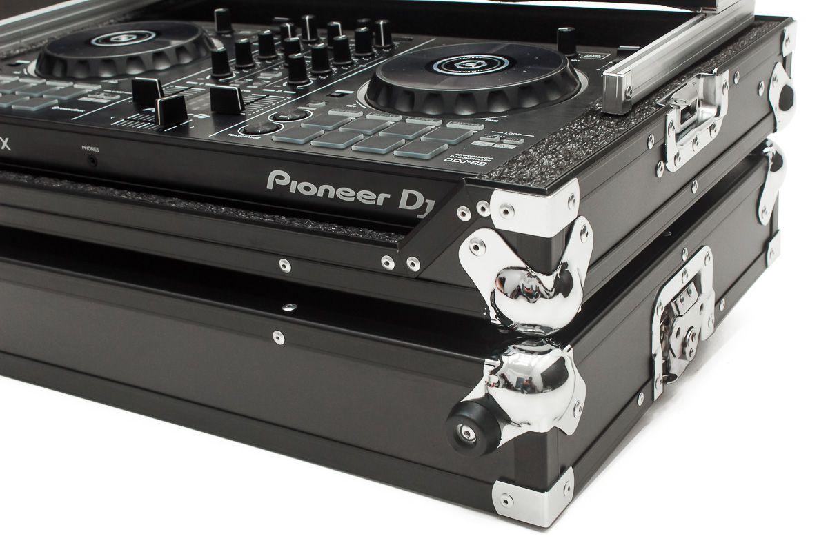 Hard Case Controladora Pioneer DDJ SB3 com Plataforma Black/Chromo