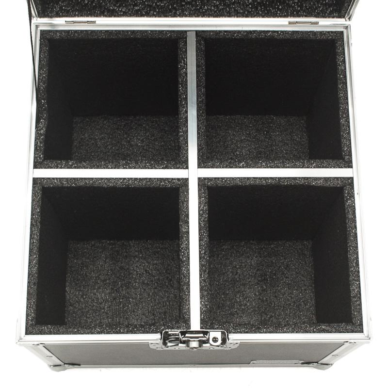 Hard Case Estojo 4 Refletores Canhão Par 64 Led - emb6