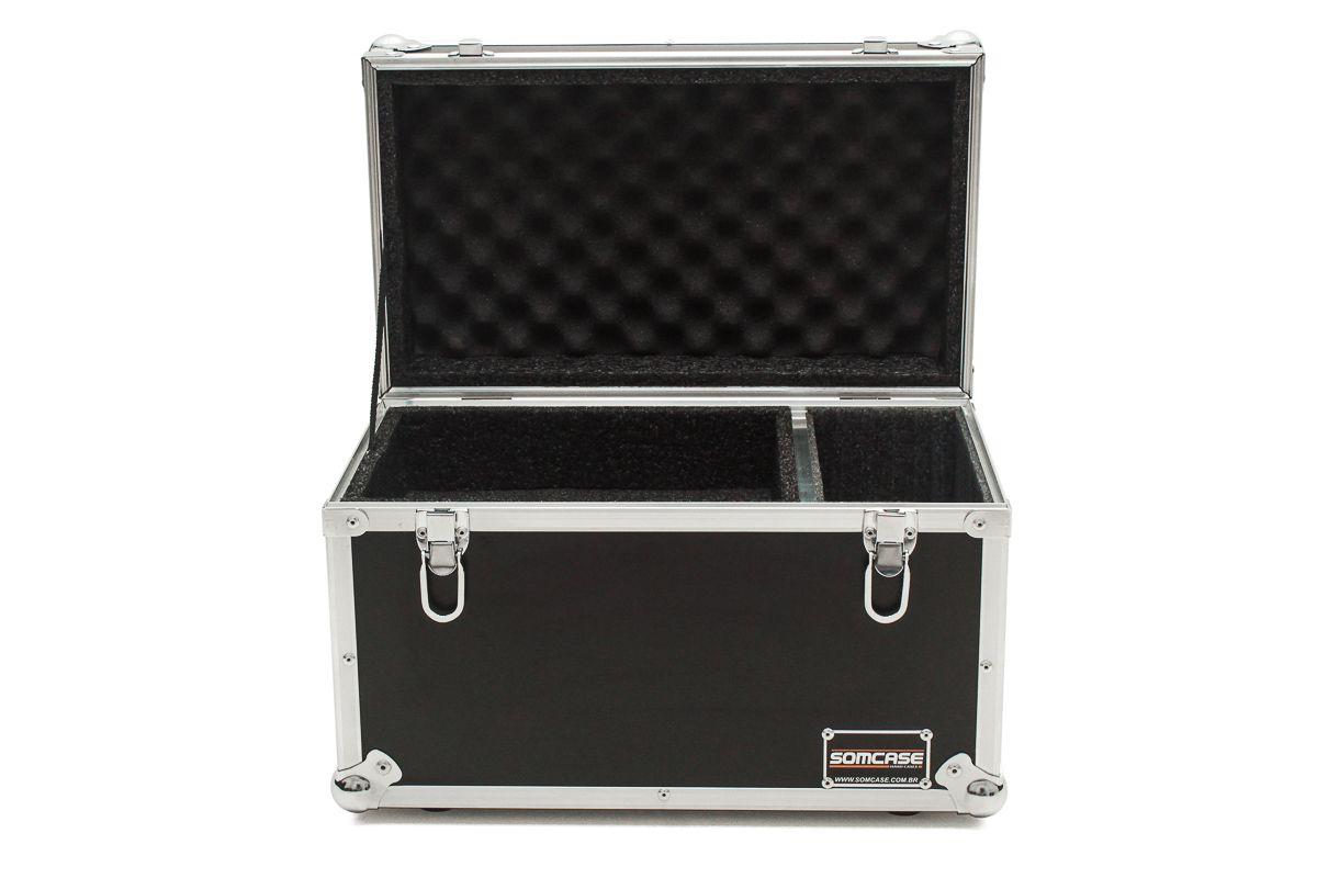Hard Case Estojo Baú 12 Microfones Shure, Sennheiser, Akg  - SOMCASE