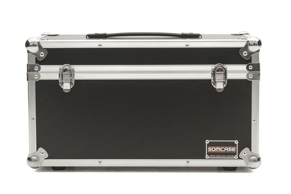 Hard Case Estojo Baú 15 Microfones Shure, Sennheiser  Akg  - SOMCASE