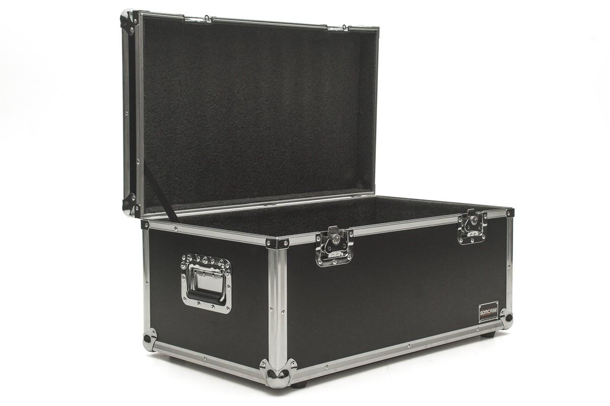 Hard Case Estojo Baú Acessórios 80x40x40 - Emb6