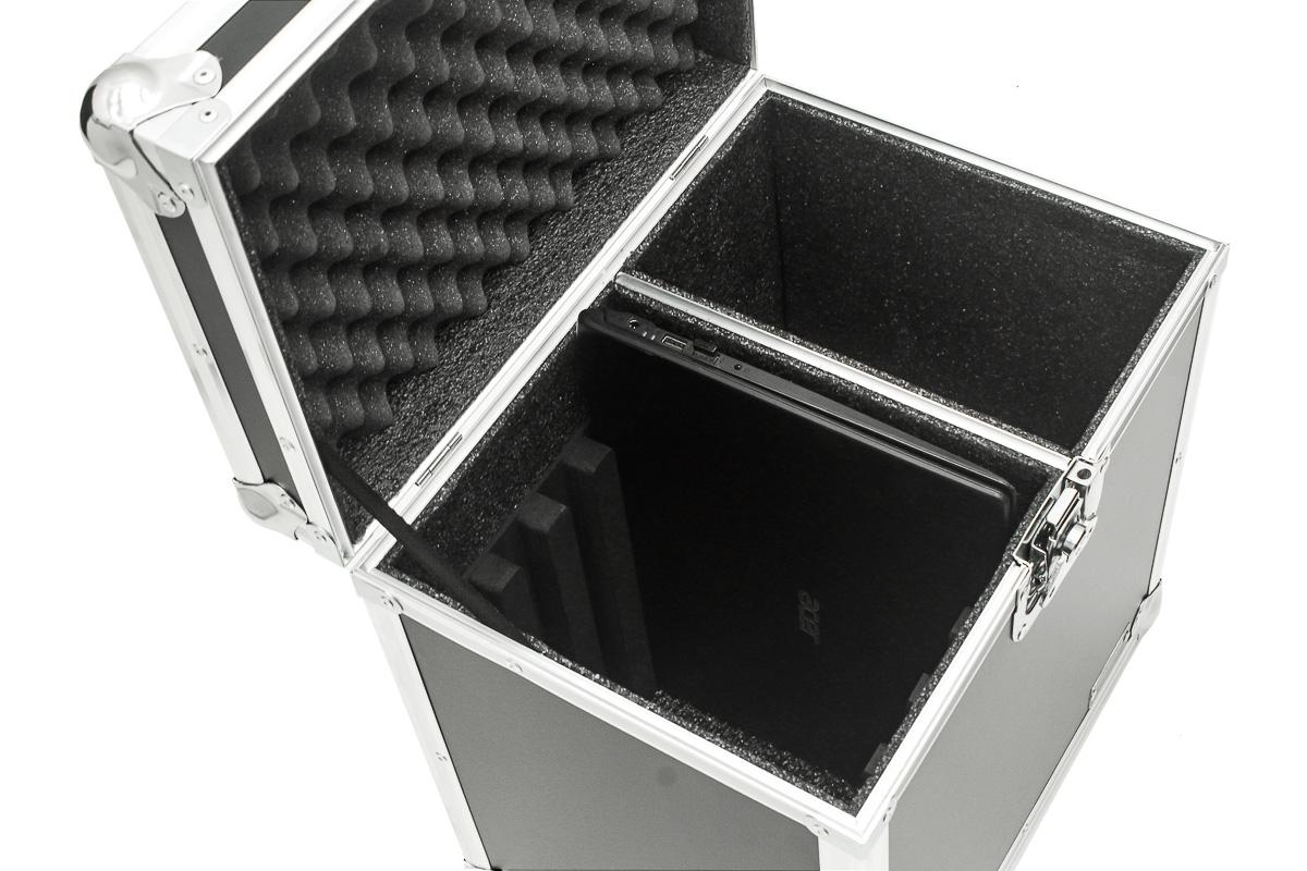 Hard Case estojo Baú maleta 4 Notebook cabos e Acessórios