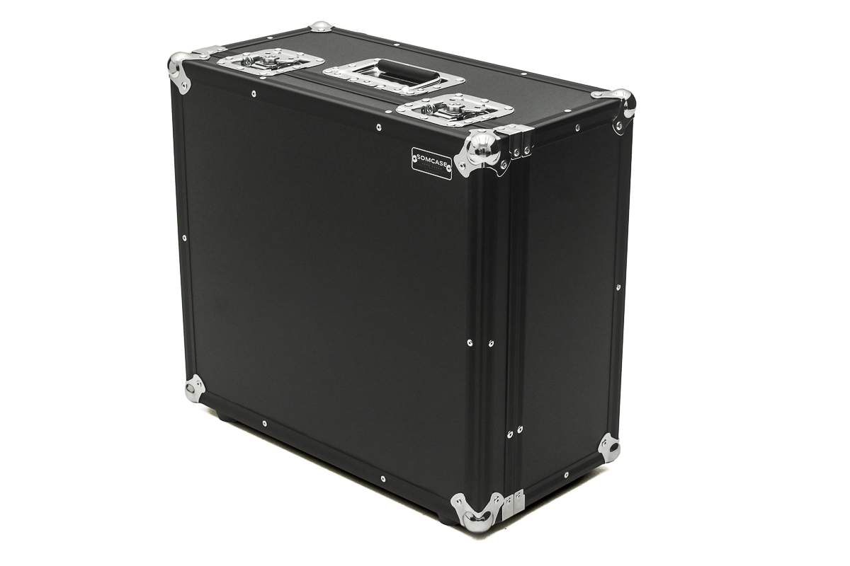 Hard Case Estojo Mala para Sanfona Acordeon Black