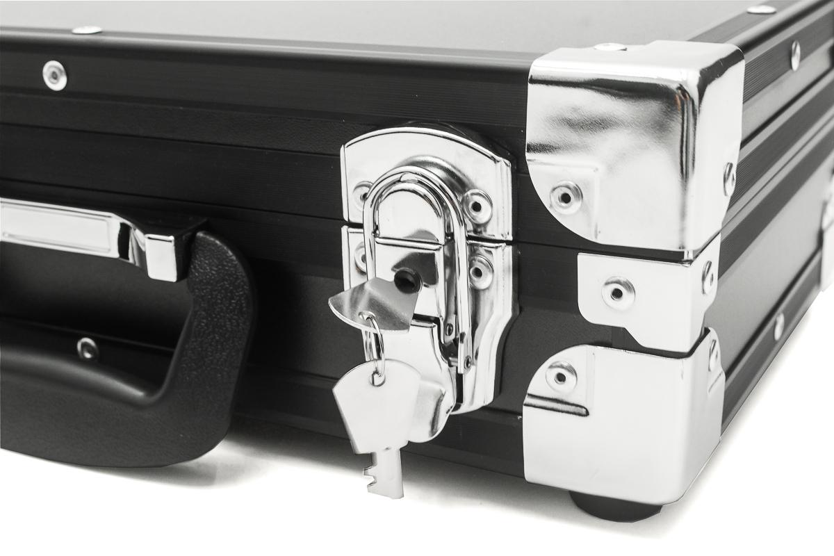Hard Case Estojo Maleta Arma Pistola Taurus Glock e Revolver