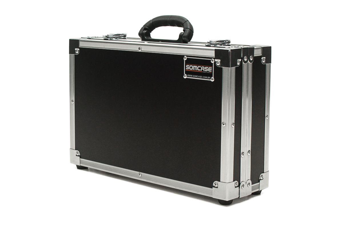 Hard Case Estojo Maleta Projetor Epson PowerLite X39  - SOMCASE