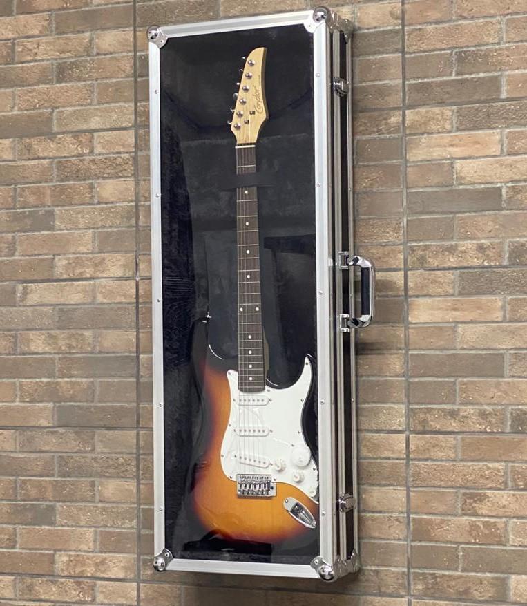 Hard Case Guitarra e Contrabaixo Vitrine Decoração