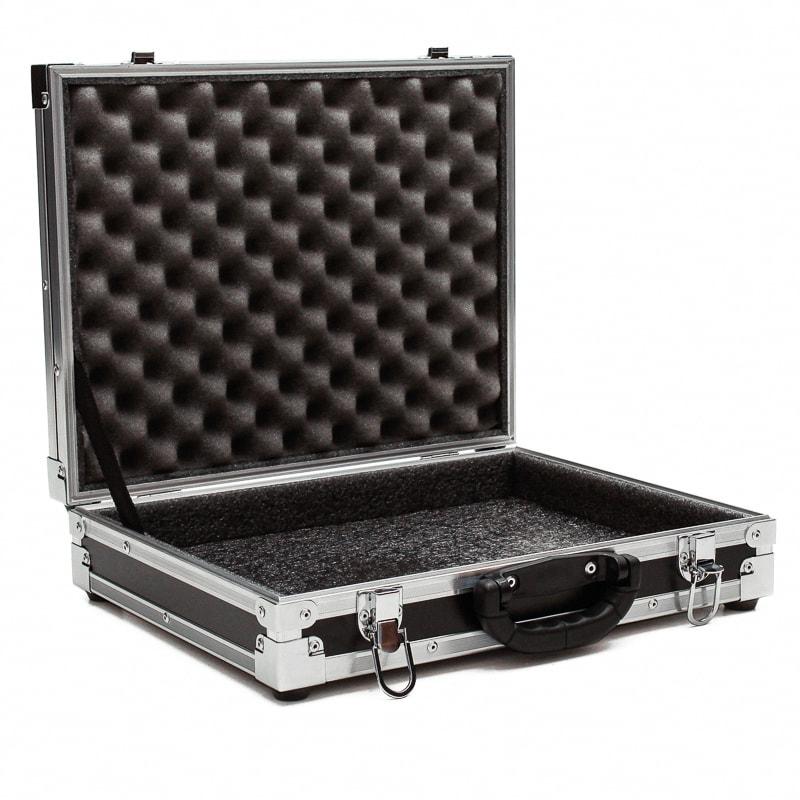 Hard Case Maleta Microfone sem fio Akg, Shure, Sennheiser