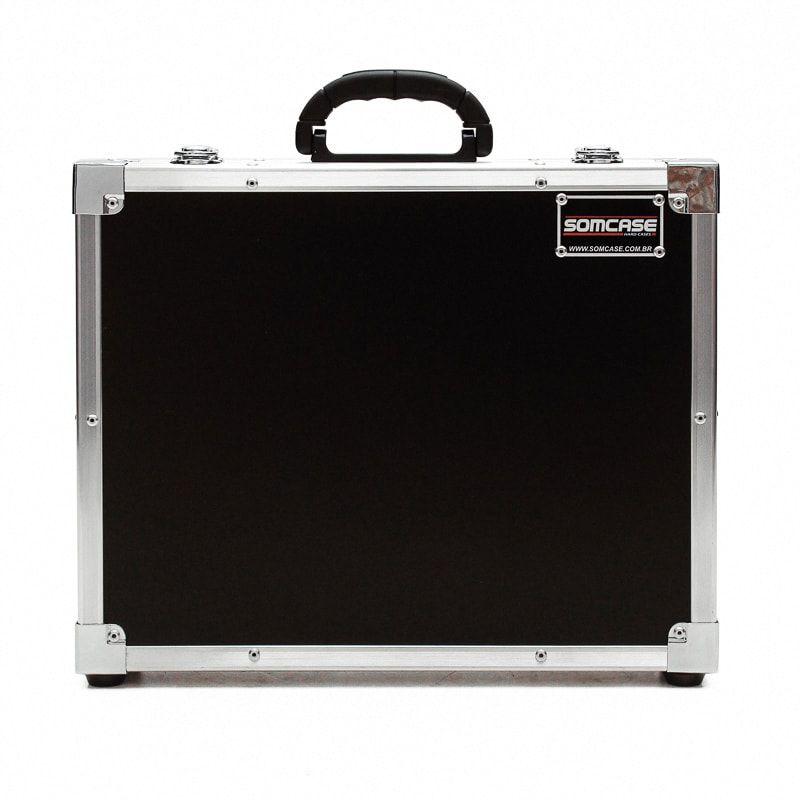 Hard Case Maleta Para Microfone Sem fio SHURE SVX24 PG28  - SOMCASE