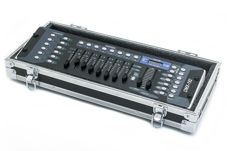 Hard Case Mesa Iluminação Dmx Operador II