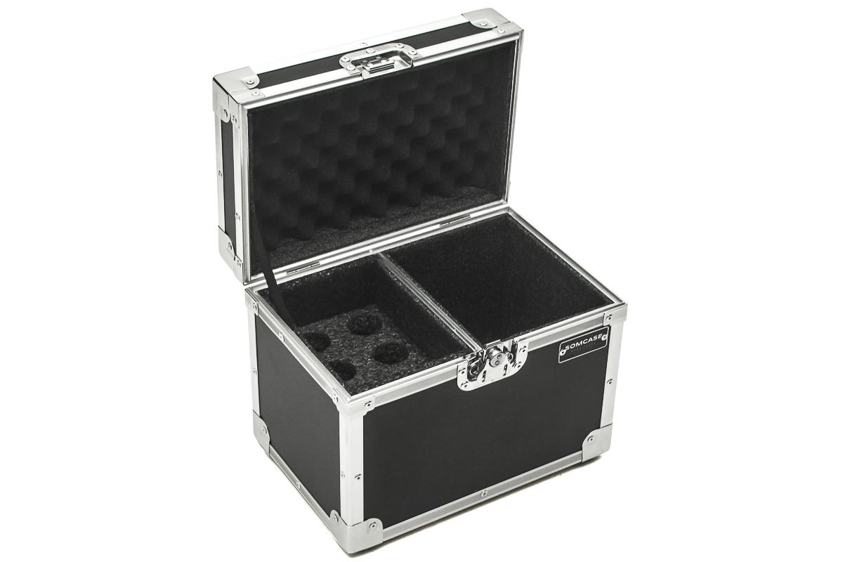 Hard Case Microfone Baú 6 Microfones Shure, Sennheiser, Akg