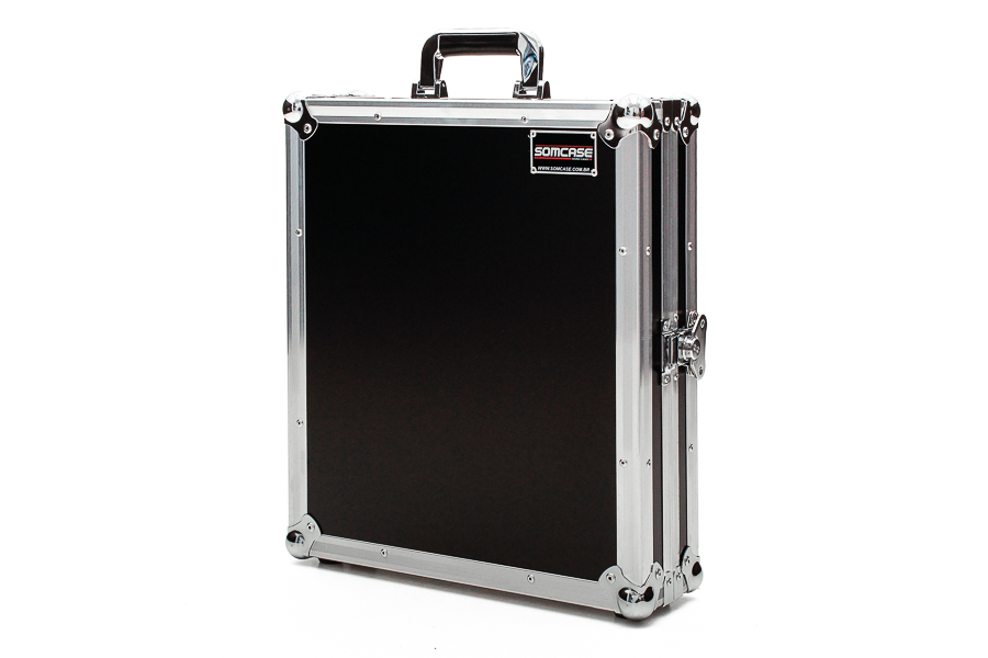 Hard Case Mixer Mesa de som Mark Audio CMX08 Usb