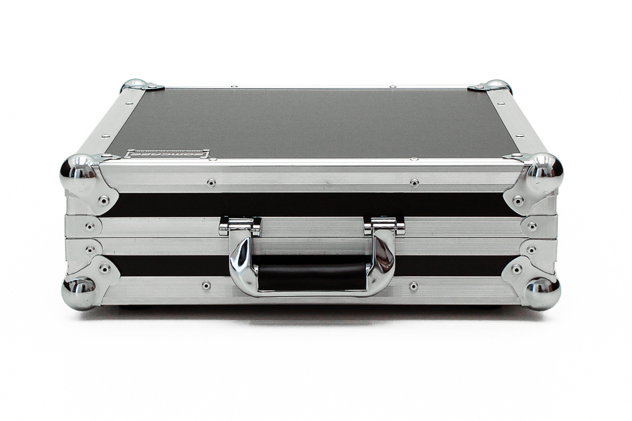Hard Case Mixer Mesa de som Mark Audio CMX12 Usb