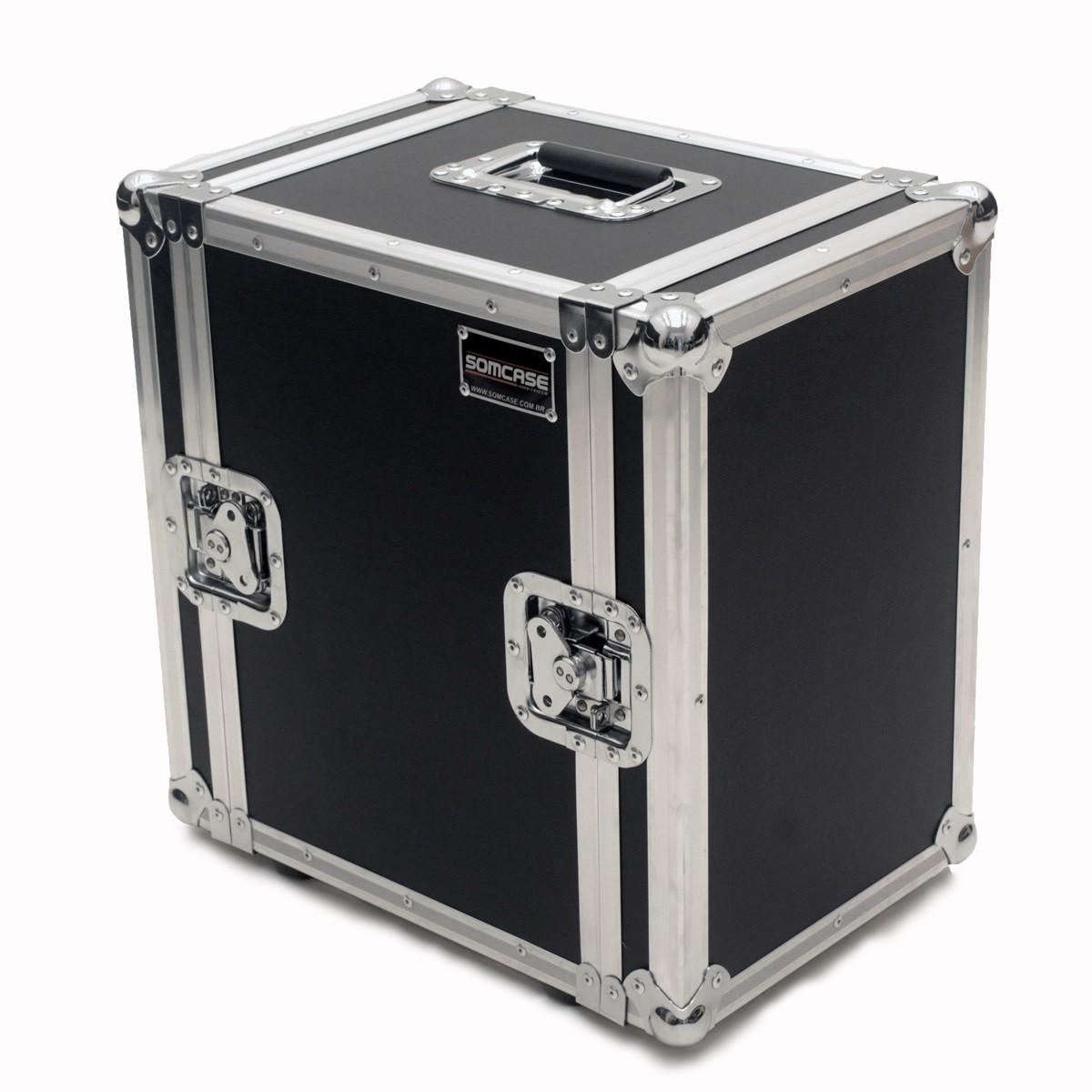 Hard Case Monitor áudio referência Studio Falante de 6 e 8