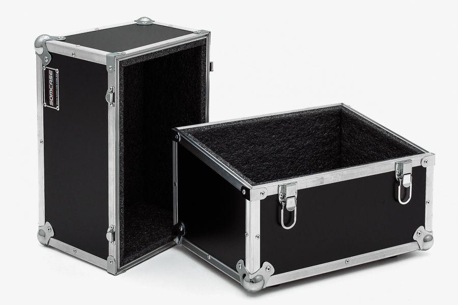 Hard Case para 100 Discos de Vinil Angulado