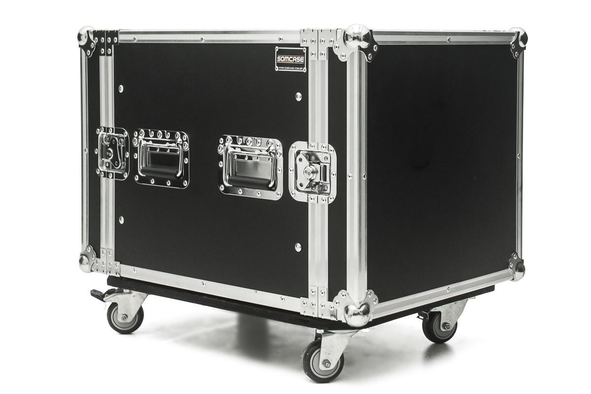 Hard Case Rack 12U Potência e Amplificadores - EMB10