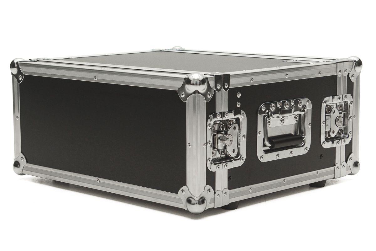 Hard Case Rack 6U Periféricos c/ Gaveta - EMB6