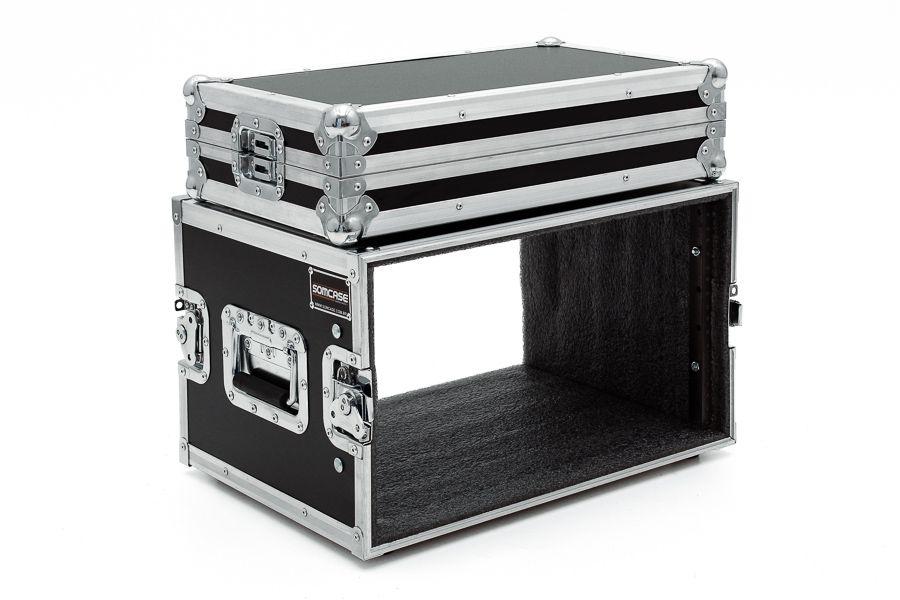 Hard Case Rack 8U Periféricos - EMB6