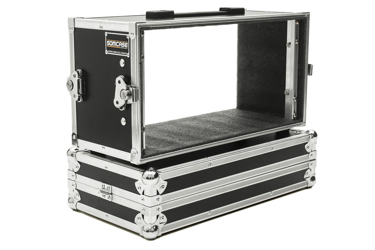 Hard Case Rack Mesa Soundcraft Mixer Ui16 + 1U